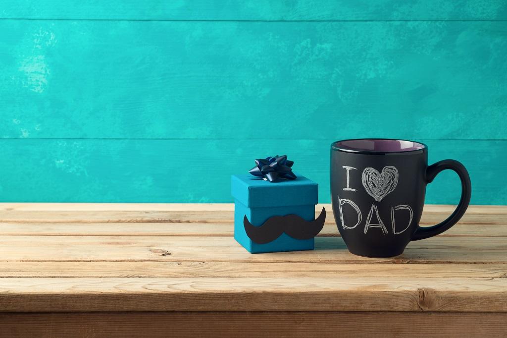 tazza decorata festa del papà